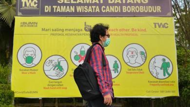 KawasanRenovasi Wisata Candi Borobudur untuk kembali membangkitkan ekonomi kreatif Indonesia (Foto via wonderfulimage.id)