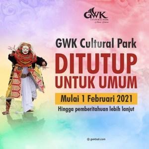 GWK Cultural Park Bali Terpaksa Tutup