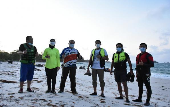 Kunjungan Menteri Kemenparekraf RI ke Geopark Belitung