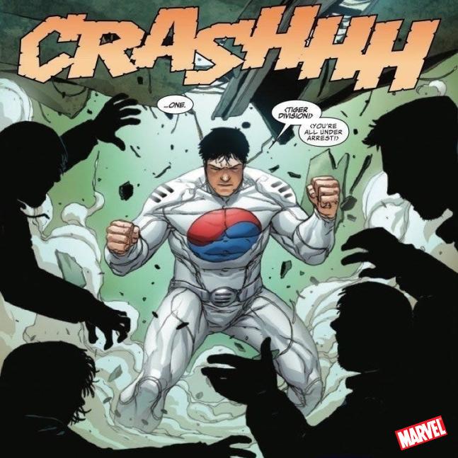 Taegukgi Superhero Baru di Marvel Comic
