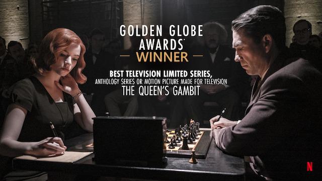 The Queen's Gambit menjadi salah satu miniseri original Netflix terbaik (Foto via Twitter @NetflixTheQG)