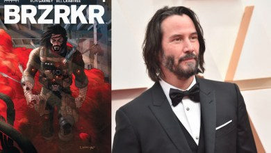 Keanu Reeves akan menjadi bintang sekaligus produser dari film BRZRKR (Foto via Twitter @NetflixID)