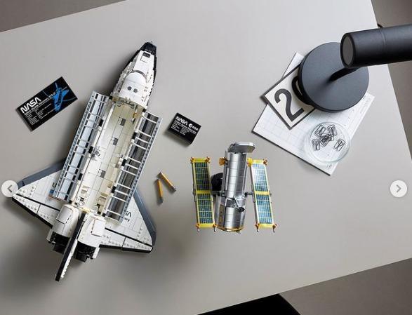 LEGO NASA Space Shuttle Discovery Set Hadir di Indonesia!