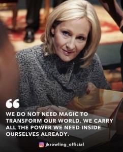 JK Rowling Siap Luncurkan Buku Anak Pertamanya!