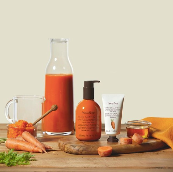 Upcycled Carrots Hand Care: Cara Innisfree Rayakan Hari Bumi