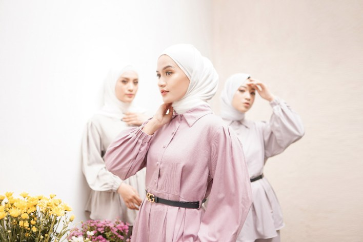 Contoh foto produk untuk hijab - project foto produk for Mayang Collection by Ameltrias