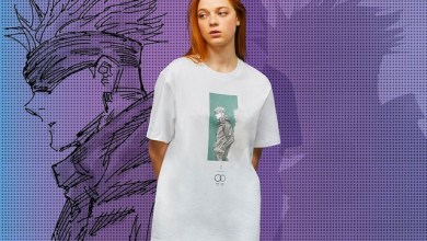 Salah satu desain t-Shirt UNIQLO x Jujutsu Kaisen (Foto via UNIQLO)