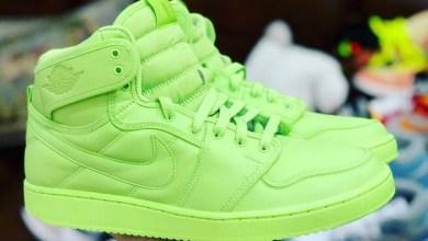 Tampilan awal sepatu hasil kolaborasi Nike dan Billie Eilish (Foto via Instagram thatsoleretriever)