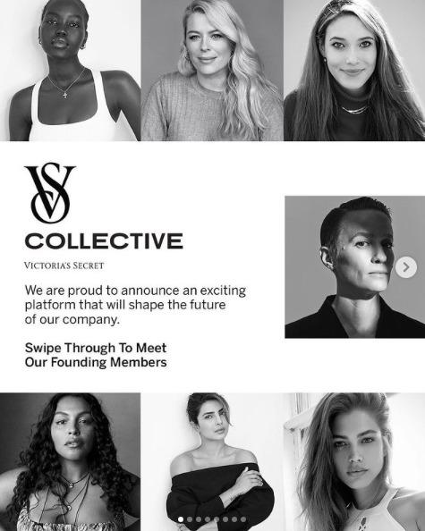 The VS Collective: Kembalinya Karya Victoria's Secret