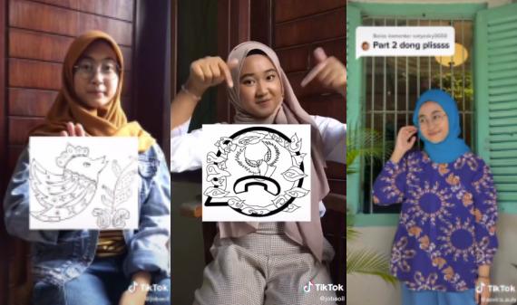 Beberapa Squence Video Karya Kelompok Aisyah, Sevira dan Allysa Dengan konsep Media Sosial
