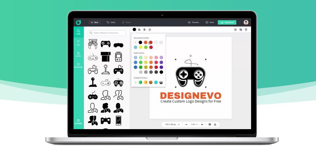 Yuk bikin logo di www.designevo.com