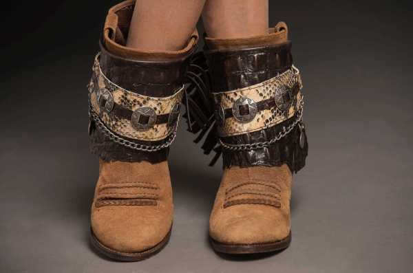 CUBREBOTAS BOHO CAYMAN coverboots, ETHNIC