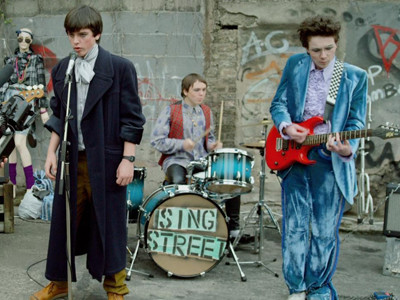 "In ""Sing Street"", I learned you've got to drive it like you stole it!"