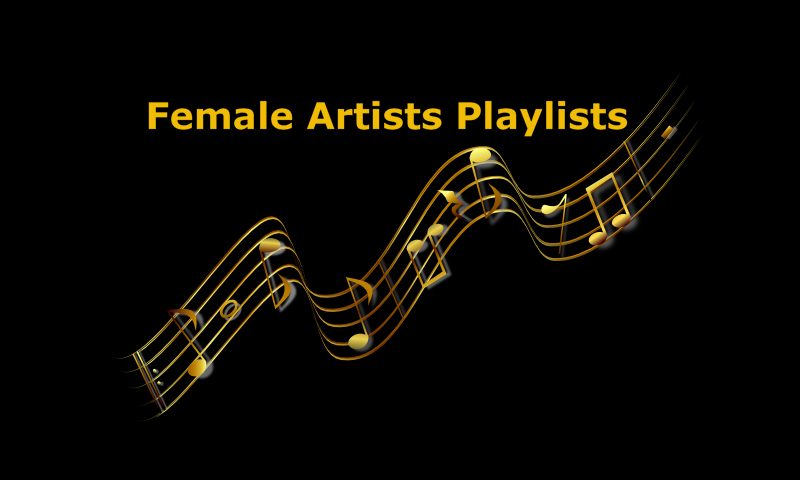 Female Artists Playlists