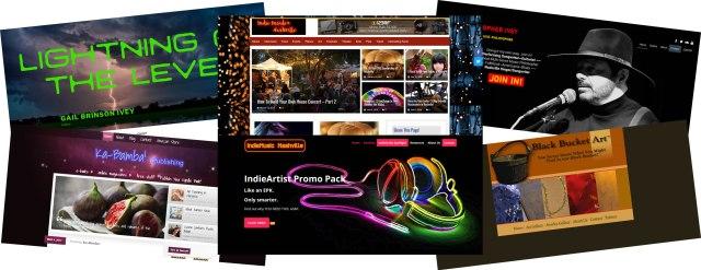 Website Design, Building, & Hosting by IndieMusicNashville.com