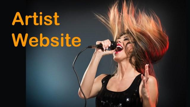 Indie Artist Website by IndieMusicNashville.com