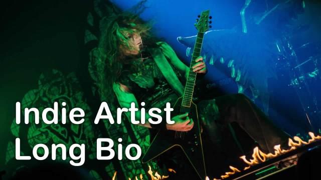 Indie Artist Long Bio by IndieMusicNashville.com