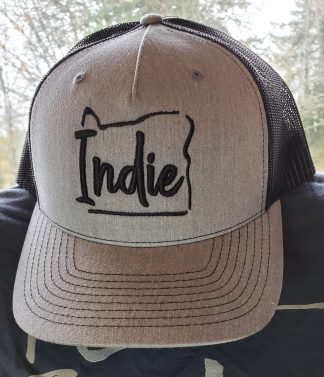 Indie Oregon Baseball Cap