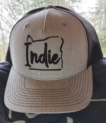 Indie Oregon Baseball Cap