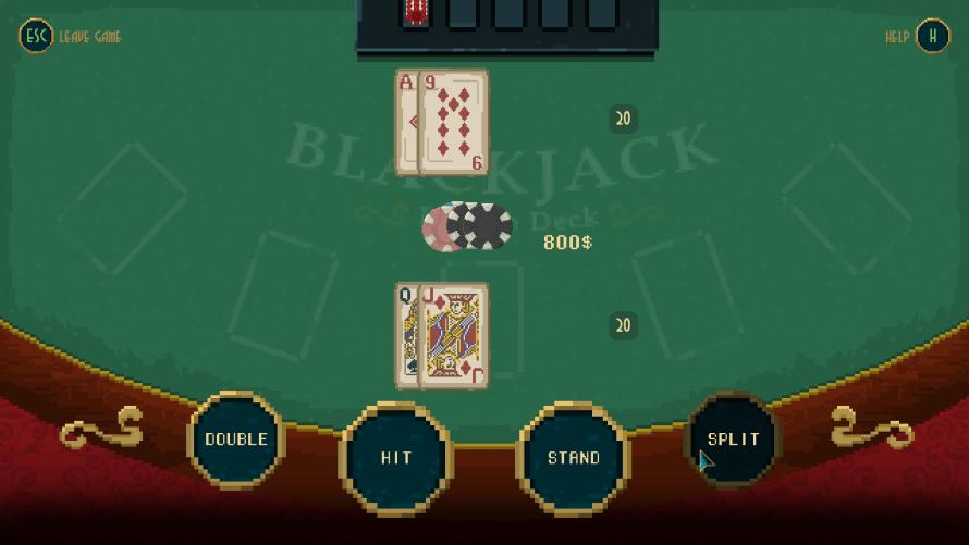 Pecaminosa Glücksspiel