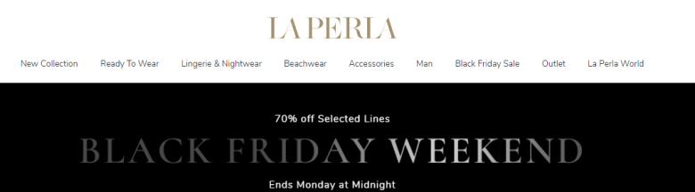 La Perla website 25-11-17