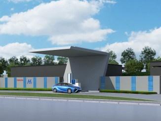 Toyota construirá una planta de hidrógeno