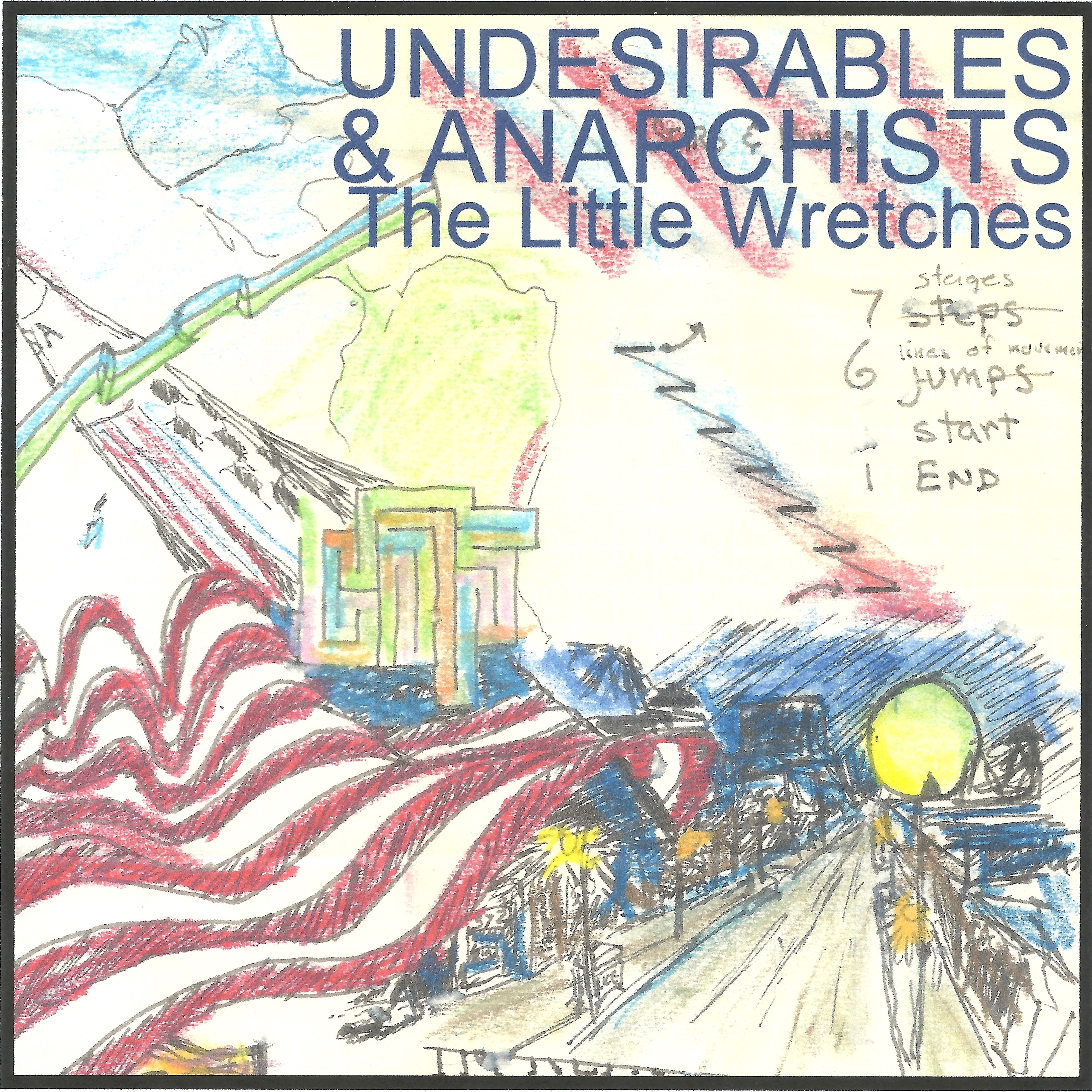 undesirables and anarchists cover