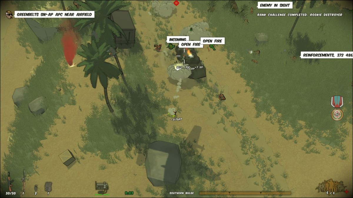 Running With Rifles Review: On The Frontlines