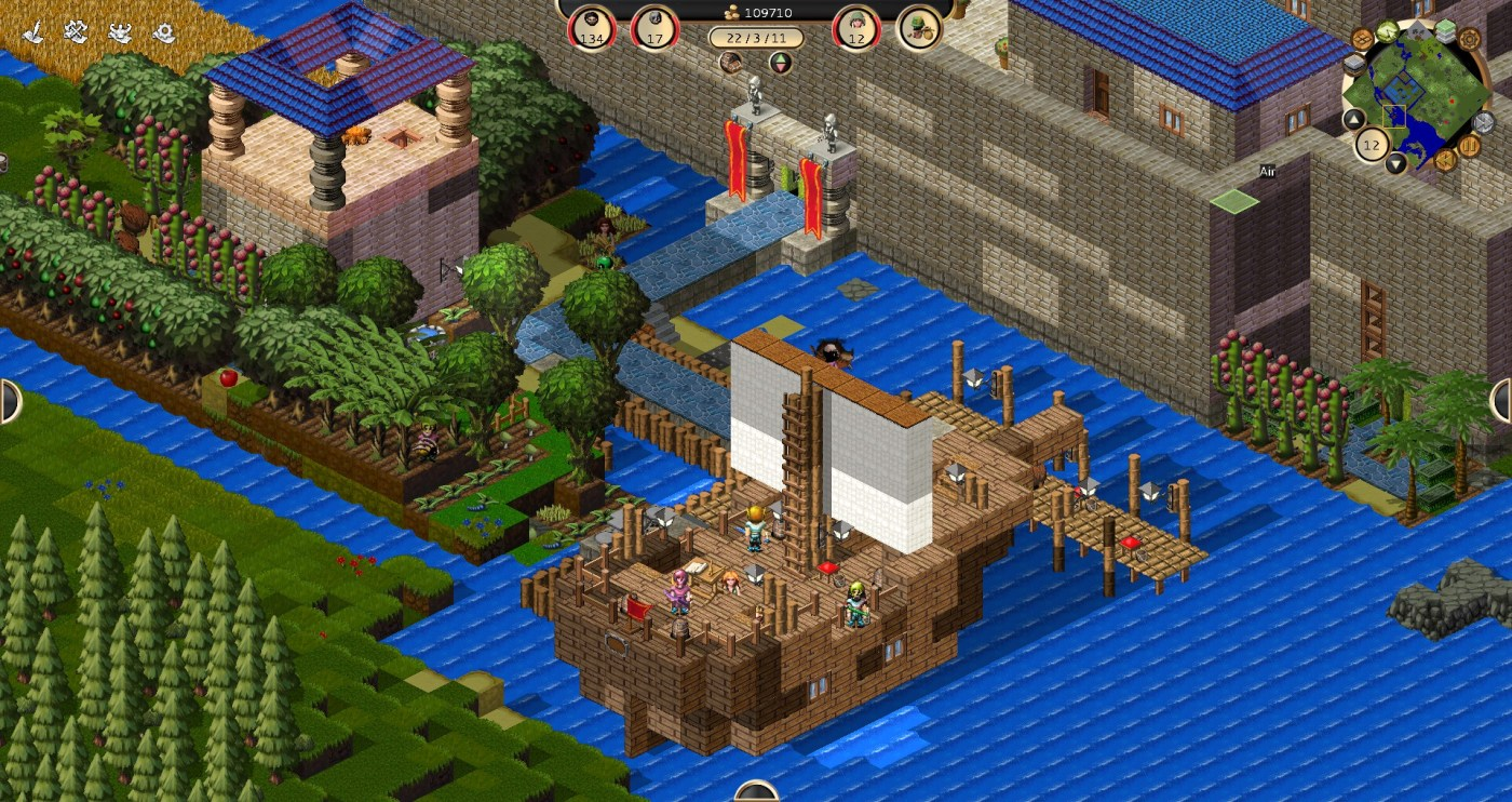 Another example is the game Towns