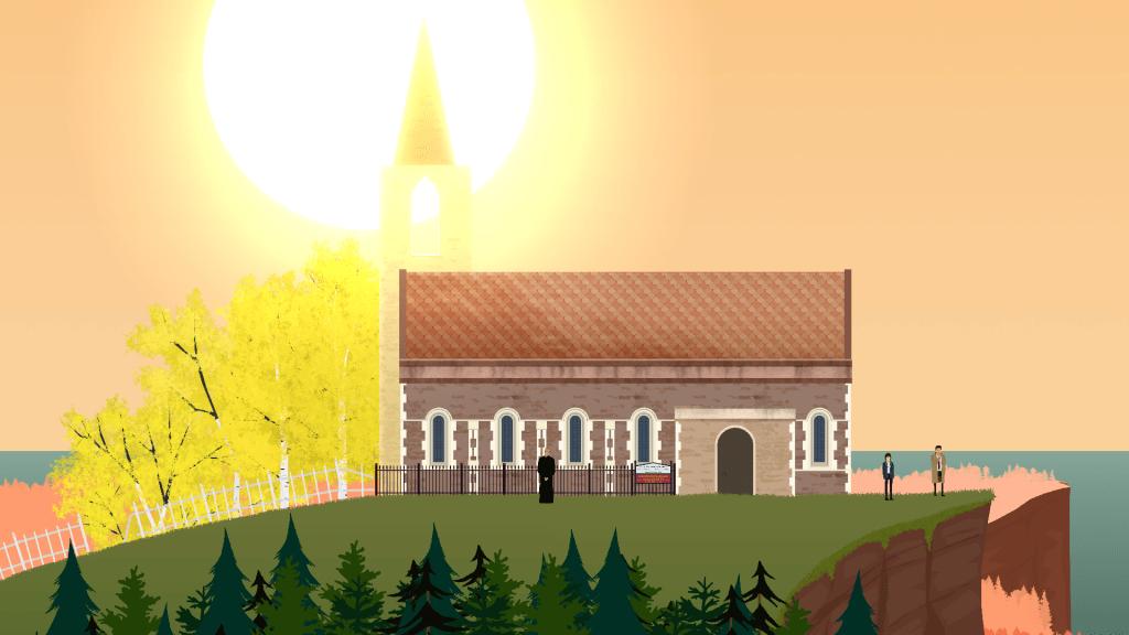 Church in Rainswept