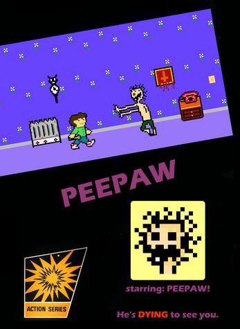 peepaw poster