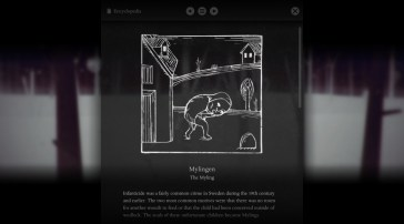 Year Walk screenshot - Myling lore