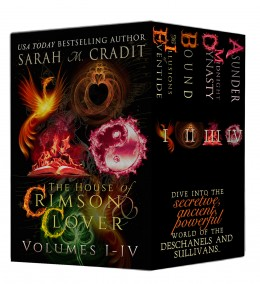 Tour: The House of Crimson & Clover Box Set Volumes I-IV by Sarah M. Cradit