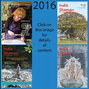 Indie Shaman PDF magazine back issue bundle 2016