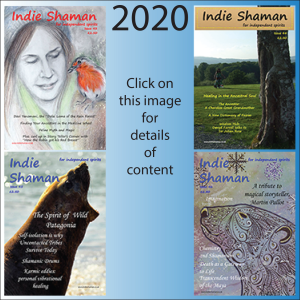 Contents listings for Indie Shaman Back Issues for the year 2020