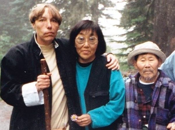 Jan Van Ysslestyne with Grandfather Misha Duvan and Grandmother Nadia Duvan