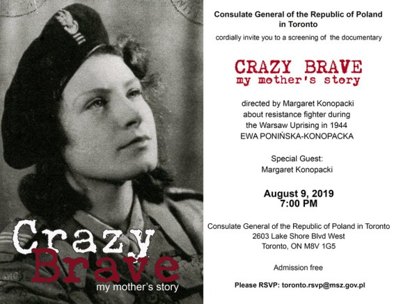 Crazy Brave: My Mothers Story