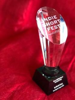 Indie Short Fest official trophy