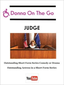 Donna On The Go: Judge (script)