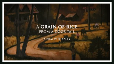 A Grain Of Rice From A Dog's Tail
