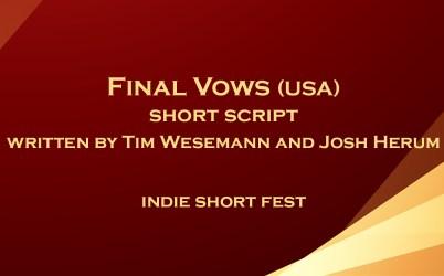 Final Vows