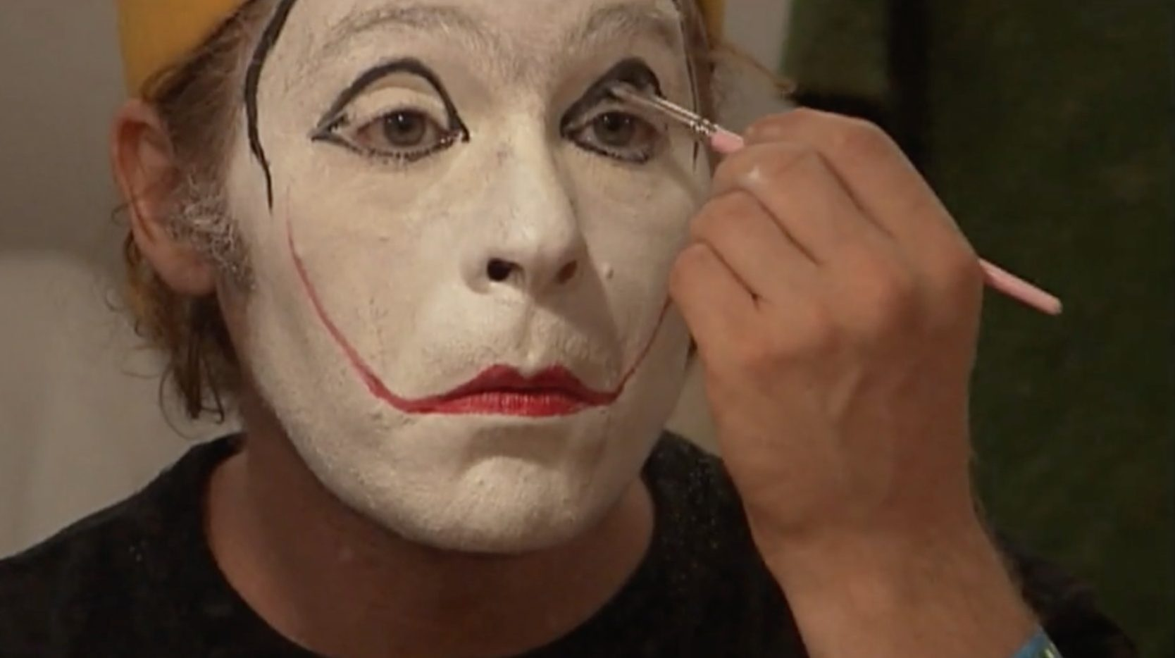 The Clown Without A Mask