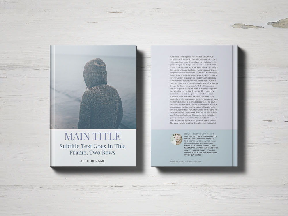 indesign templates for books - free book cover template