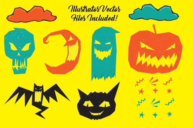 Halloween vector illustrations