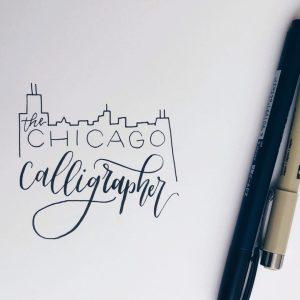 The Chicago Calligrapher Logo