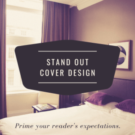 stand out cover design