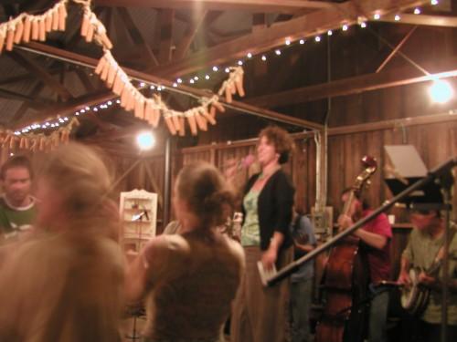 Pie Ranch barn dance, near Pescadero CA
