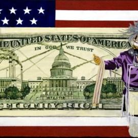Broken Treaties collage image by Brandon Lazore