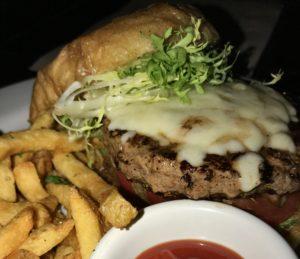 a delicious burger