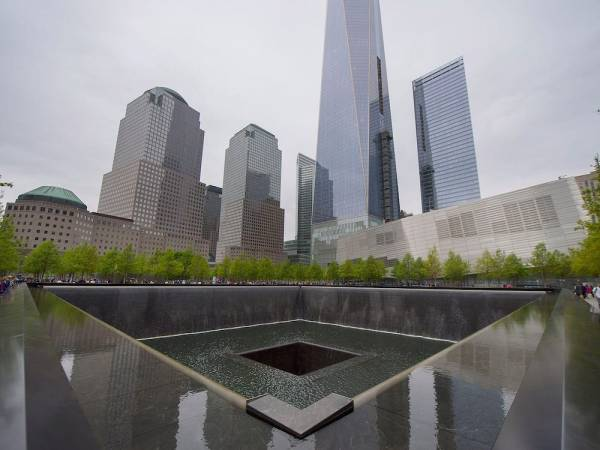 One World Trade Reflecting Pool